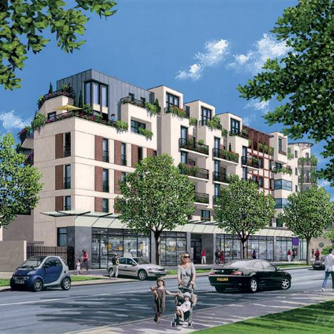 Un nouveau programme immobilier romainville villa for Achat maison romainville