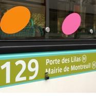 Renforcement de l offre de bus sur la ligne 129 porte des lilas mairie de montreuil villa - Piscine des tourelles porte des lilas ...