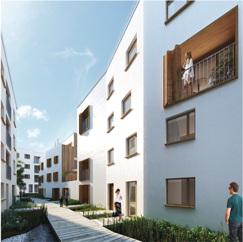 Confidence nouveau programme immobilier sign nexity for Achat maison romainville